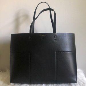 Tory Burch Block-T Tote Bag Black
